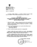 PP Rad NO TD u vl. JLS na pod. BBŽ – ODLUKA 30.10.2018.